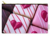 Hearts On Candy Carry-all Pouch