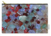 Hearts On Sea Glass Carry-all Pouch