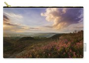 Heather Sunset Carry-all Pouch
