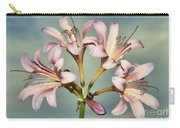 Heavenly Lilies Carry-all Pouch