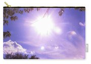 Heavens Blue  Carry-all Pouch