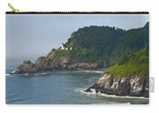 Heceta Head Overlooking The Pacific Ocean Carry-all Pouch