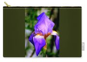 Heirloom Iris Purple Carry-all Pouch