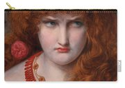 Helen Of Troy Carry-all Pouch by Anthony Frederick Augustus Sandys