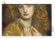 Helen Of Troy Carry-all Pouch by Philip Ralley
