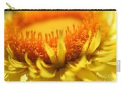 Helichrysum Bracteatum Named Strawburst Yellow Carry-all Pouch
