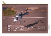 Helicopter Landing In Victoria, British Columbia Carry-all Pouch