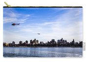 Helicopter Tour Of Nyc Carry-all Pouch