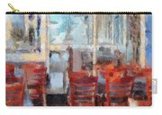 Hellas Restaurant And Bakery  Carry-all Pouch by L Wright