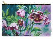 Hellebore Flowers Carry-all Pouch