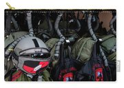 Helmets And Flight Gear Of Hellenic Air Carry-all Pouch