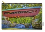 Helmick Mill Or Island Run Covered Bridge  Carry-all Pouch