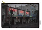 I Heard I Was In Town Carry-all Pouch by John Stephens