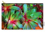 Hen And Chicks  Digital Paint Carry-all Pouch
