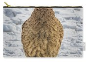 Hen Pheasant In The Snow Carry-all Pouch