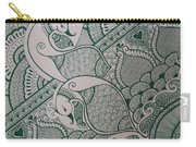 Henna Carry-all Pouch by M Ande