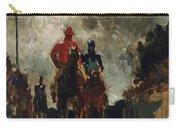 Henri De Toulouse Lautrec Carry-all Pouch by The Jockeys