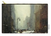 Henri's Snow In New York Carry-all Pouch
