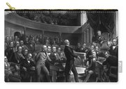 Henry Clay Speaking In The Senate Carry-all Pouch