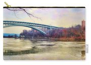 Henry Hudson Bridge And The Palisades Carry-all Pouch