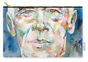 Henry Miller Portrait.1 Carry-all Pouch