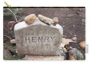 Henry Thoreau Carry-all Pouch