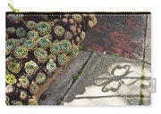 Hens And Chicks Carry-all Pouch