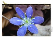 Hepatica Blue Carry-all Pouch