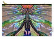 Her Heart Has Wings - Spiritual Art By Sharon Cummings Carry-all Pouch