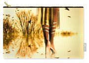 Her Morning Walk Carry-all Pouch by Bob Orsillo