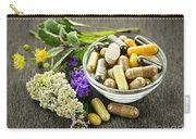 Herbal Medicine And Herbs Carry-all Pouch