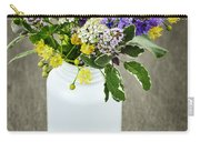Herbal Medicine And Plants Carry-all Pouch by Elena Elisseeva