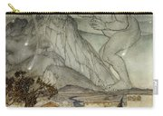 Hercules Supporting The Sky Instead Of Atlas Carry-all Pouch by Arthur Rackham