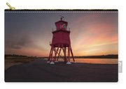 Herd Groyne Lighthouse On The Water S Carry-all Pouch