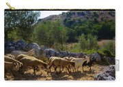 Herd Of Sheep In Tuscany Carry-all Pouch