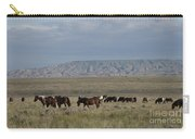 Herd Of Wild Horses Carry-all Pouch by Juli Scalzi