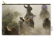 Herding Horses Oregon Carry-all Pouch