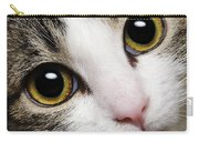 Here Kitty Kitty Close Up Carry-all Pouch