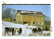 Hereford Barn Painting Carry-all Pouch