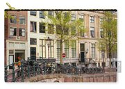 Herengracht Canal Houses In Amsterdam Carry-all Pouch