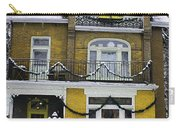 Heritage Home In Yellow Carry-all Pouch