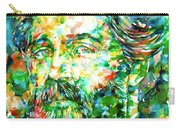 Herman Melville Watercolor Portrait Carry-all Pouch
