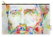 Herman Melville Watercolor Portrait.1 Carry-all Pouch