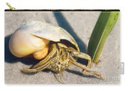 Hermit Crab Clibanarius Vittatus Carry-all Pouch