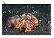 Hermit Crab With Anemone Carry-all Pouch