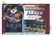 Heroes Of The Alamo Lobby Card 1936 Julian Rivero Collage Color Added 2012 Carry-all Pouch