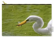Heron And Dragonfly Carry-all Pouch