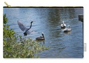 Heron And Pelicans Carry-all Pouch