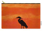 Heron - At - Sunset Carry-all Pouch
