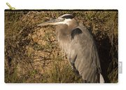 Heron Basking In The Morning Sun Carry-all Pouch
